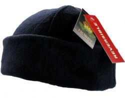 GORRO DE POLAR LISO DOBLE REVERSIBLE - 2 COLORES